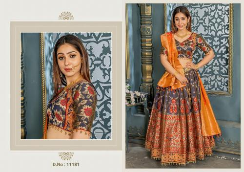 AF Peafowl Vol-39 wholesale Lehengas catalog