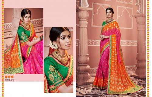 Kessi Fabrics Bandhej Vol 10 wholesale saree catalog