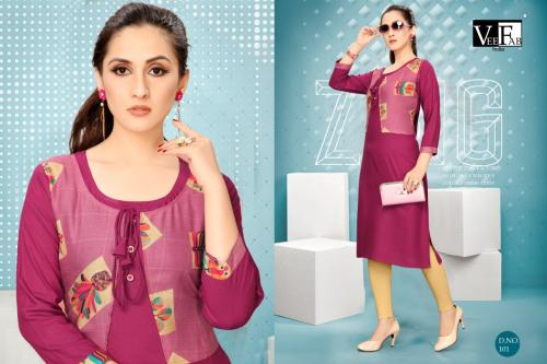 VF India Dream Girl Vol-2 wholesale Kurti catalog