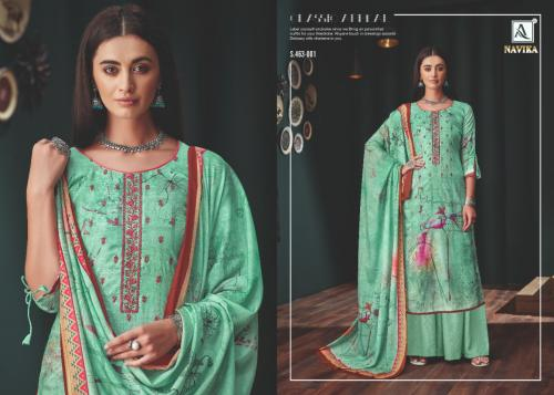 Alok Suit Naavika wholesale Salwar Kameez catalog