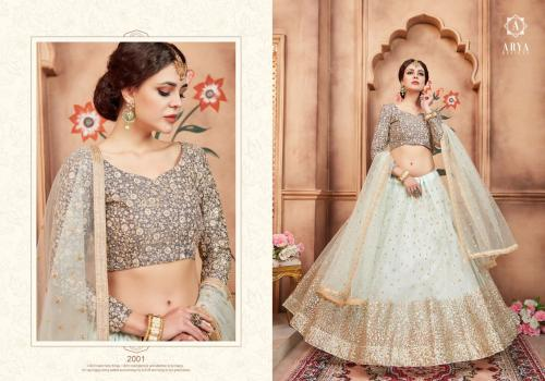 Florals Vol 2 Arya Designs wholesale Lehengas catalog