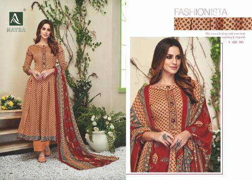 Alok Suits 420-001-420-008 Series