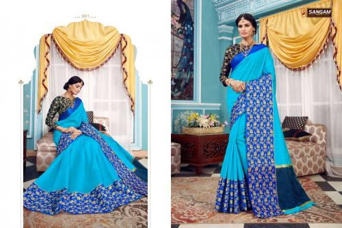 Sangam Prints Cadbury Vol-2 wholesale saree catalog