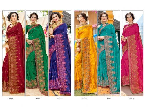 Saroj Saree Zoya Vol-4 wholesale saree catalog