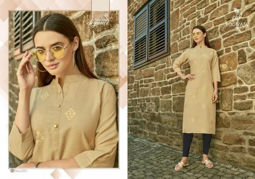 Poonam Designer Asiana Vol-2 wholesale Kurti catalog