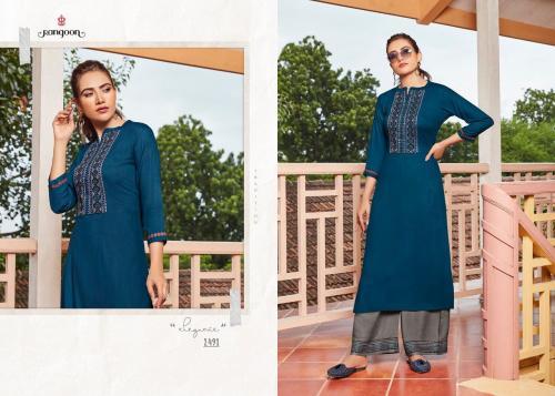 Kessi Fabrics Rangoon Catwalk Vol-3 wholesale Kurti catalog