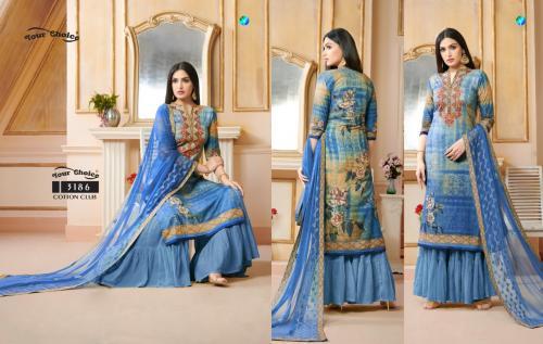 Your Choice Cotton Club wholesale Salwar Kameez catalog