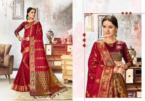 Yadu Nandan Fashion Jharonka Vol-3 wholesale saree catalog