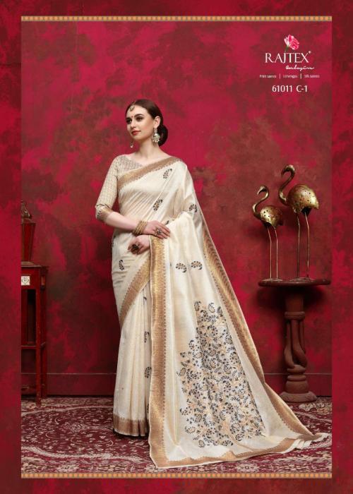Rajtex Saree Kalika Silk 61011 C wholesale saree catalog
