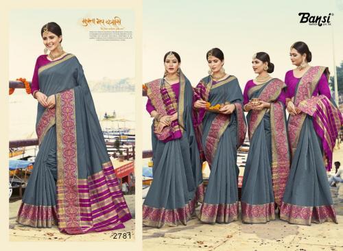 Bansi Fashion Kanjivaram Silk wholesale saree catalog
