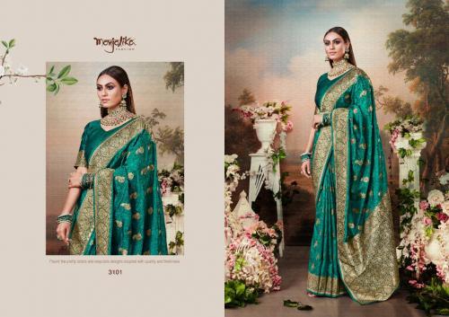Monjolika Fashion Miharika Silk wholesale saree catalog