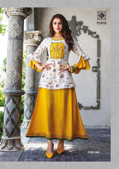 Kiana House Of Fashion Zara wholesale Kurti catalog