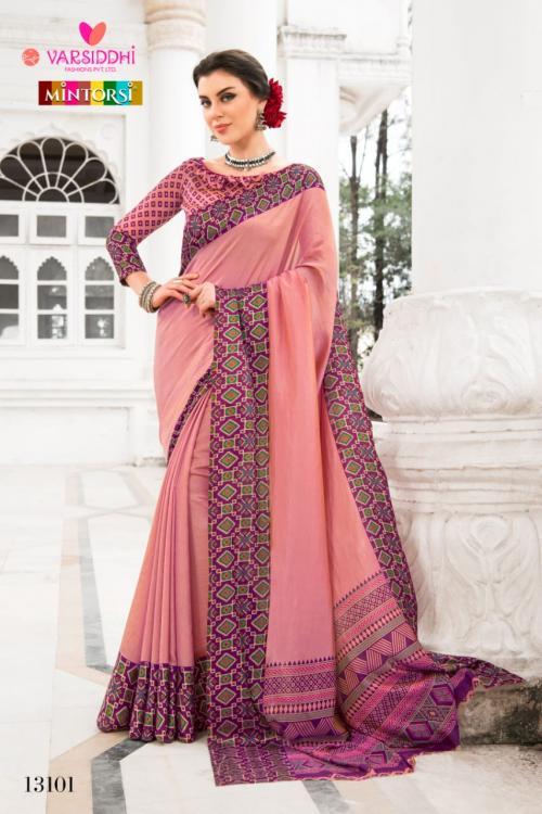Varsiddhi Fashion Mintorsi wholesale saree catalog