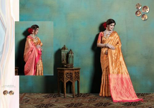 Yadu Nandan Fashion Ranya Silk wholesale saree catalog