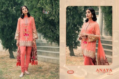 Shree Fabs Anaya Vol-8 wholesale Salwar Kameez catalog