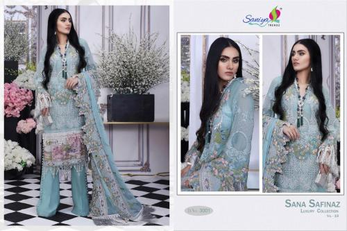 Saniya Trendz Sana Safinaz Luxury Collection-19 wholesale Salwar Kameez catalog