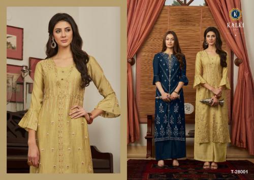 Kalki Fashion First Look wholesale Kurti catalog