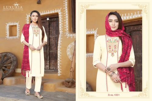 Luxuria Trendz Mannat wholesale Kurti catalog