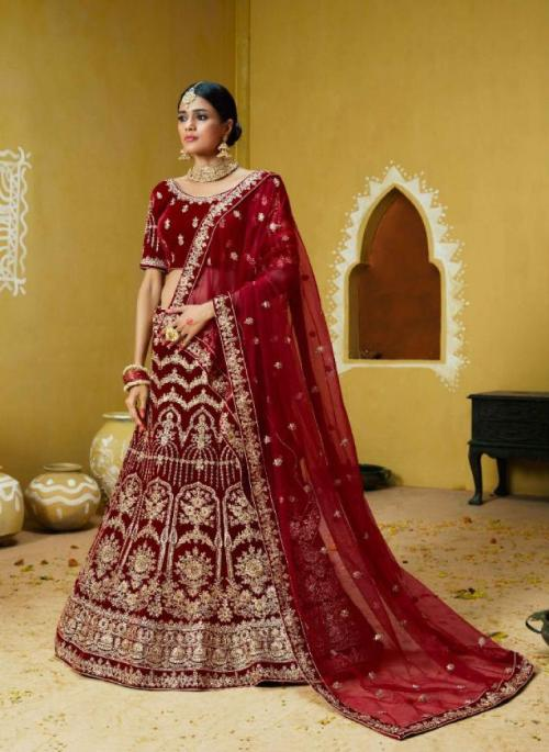 Kessi Fabrics Wedding Express wholesale Lehengas catalog