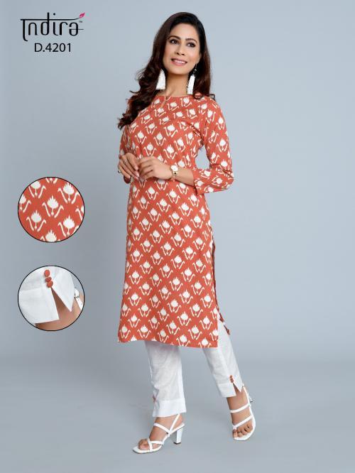 Indira Apparel Pink City Vol-2 wholesale Kurti catalog