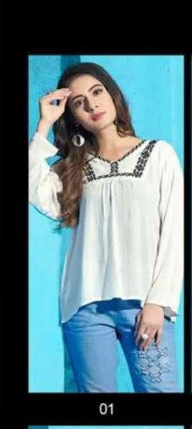 100 Miles Life wholesale Kurti catalog