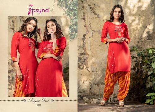 Psyna Patiyala Print Vol-4 wholesale Kurti catalog