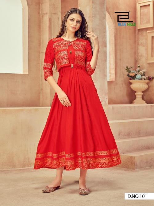 Blue Hills Smart Fashion 101-108 Series  wholesale Kurti catalog