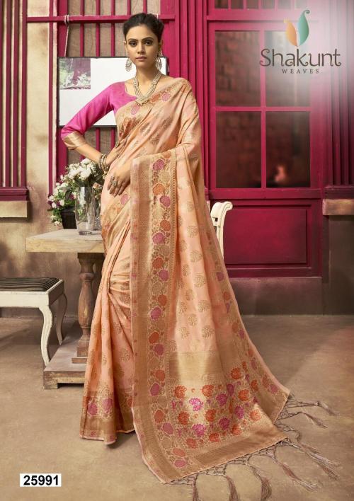 Shakunt Saree Anahita 25991-25994 Series wholesale saree catalog