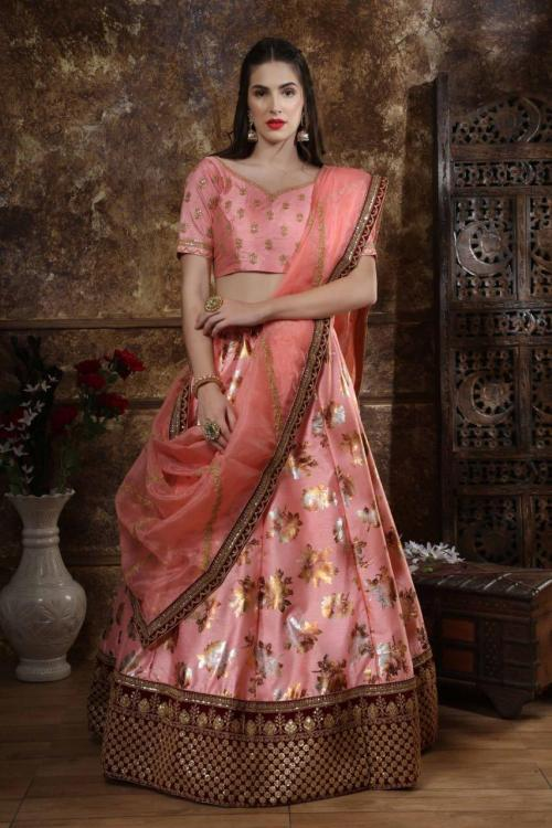 Khushboo Resham Vol-2 wholesale Lehengas catalog