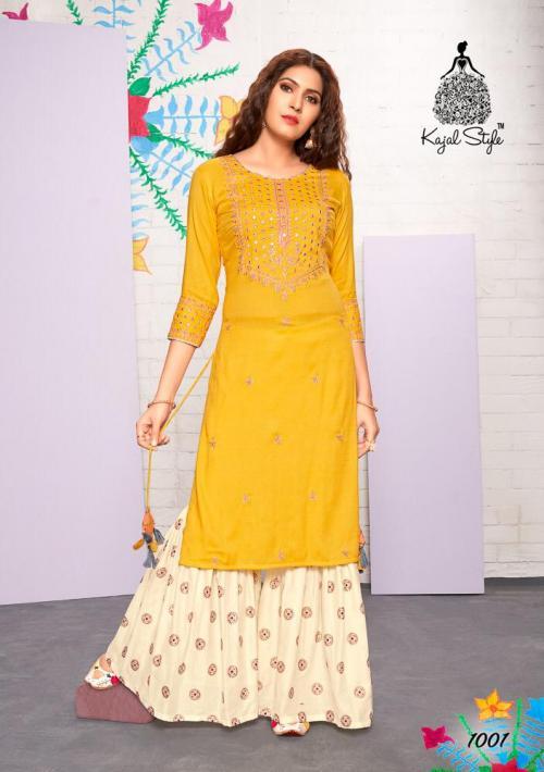 Kajal Style Fashion Label Vol-1 wholesale Kurti catalog