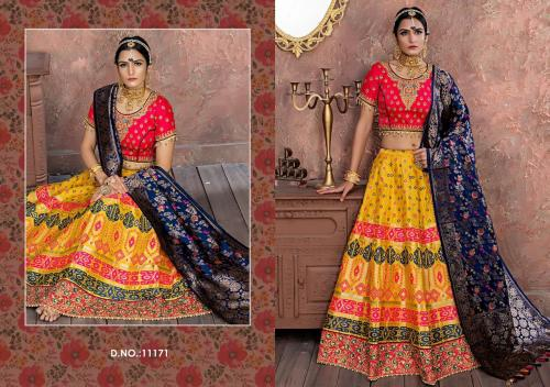AF Peafowl Lehenga Vol-40 wholesale Lehengas catalog
