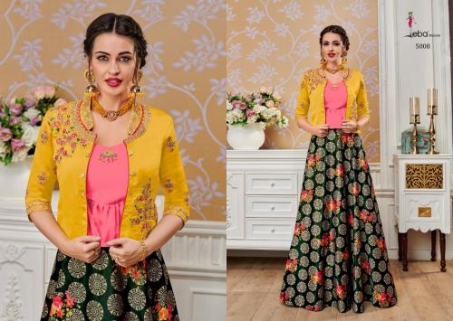 Eba Lifestyle Western Vol-3 wholesale Lehengas catalog