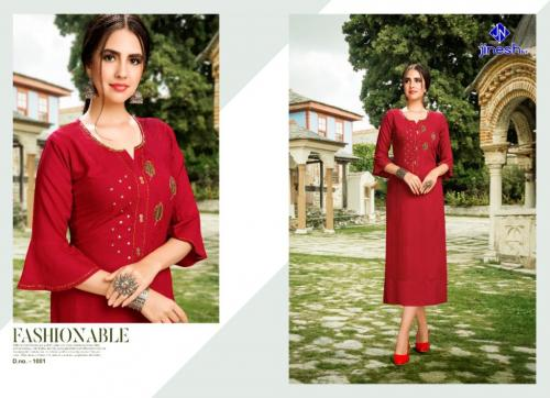 Jinesh NX Nakashi Vol-1 wholesale Kurti catalog