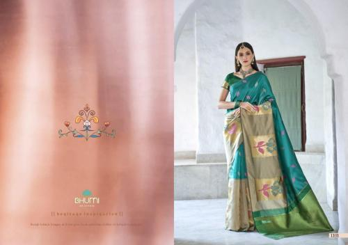 Bhumi Fashion Kavya Royal Wholesale Saree Catalog