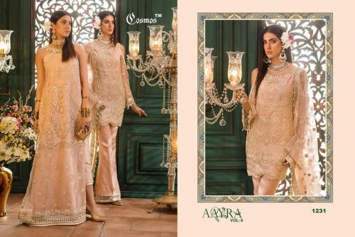 Cosmos Aayra Vol-5 Wholesale Salwar Kameez Catalog