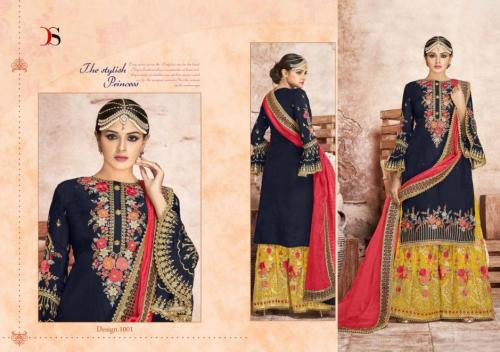 Deepsy Suits Nazakat Vol-3 Wholesale Salwar Kameez Catalog