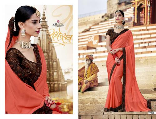 Kalista Fashions Jubliee Wholesale Saree Catalog