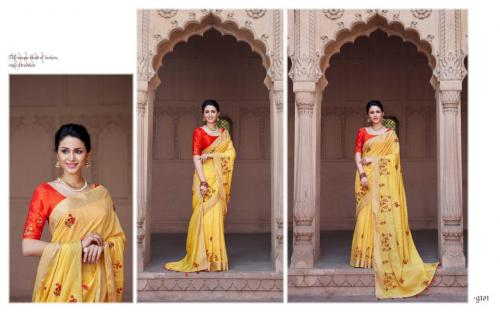 Kessi Fabrics Sunheri Wholesale Saree Catalog