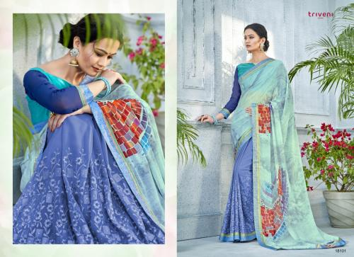 Triveni Saree Noor Vol-6 Wholesale Saree Catalog