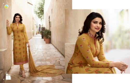 Vinay Fashion Silkina Royal Crepe Vol-21 Wholesale Salwar Kameez Catalog