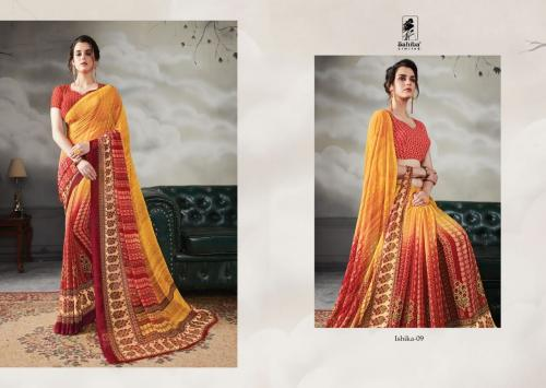 Sahiba Ishika Wholesale Sarees Catalog